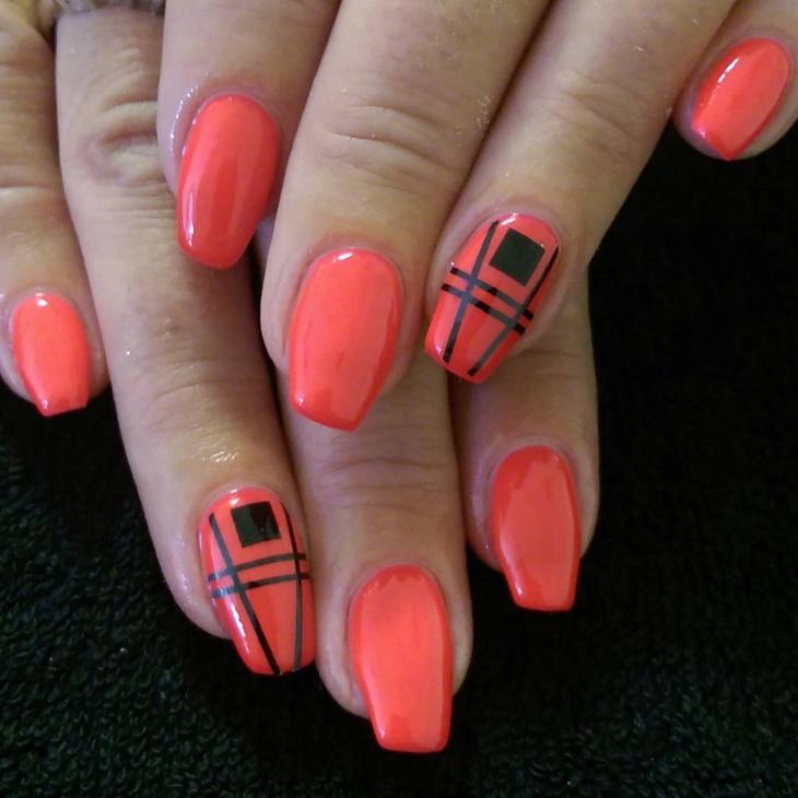 ballet shoe nail art