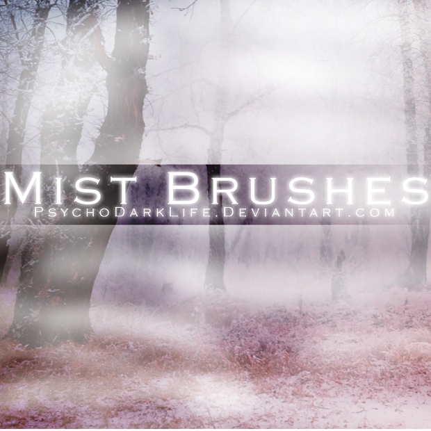 simple mist photoshop brushes
