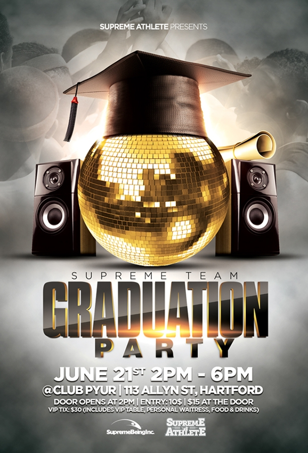 17 graduation party flyer templates printable psd ai vector eps format download design