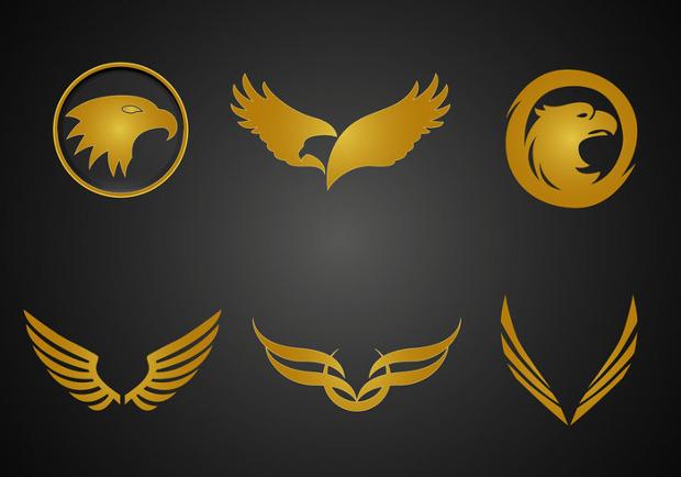 free golden eagle vector