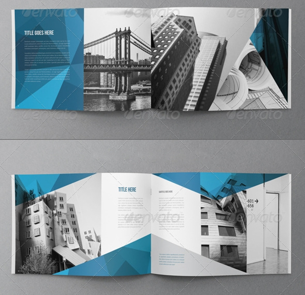 Abstract Architecture Brochure Design