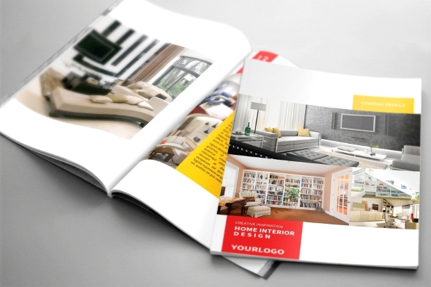 29 architecture brochures free psd ai indesign for Interior design brochure