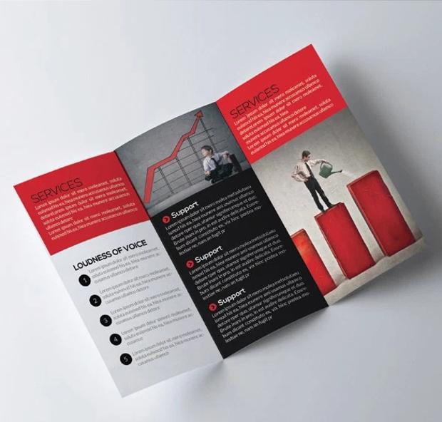 free architectural trifold design brochure