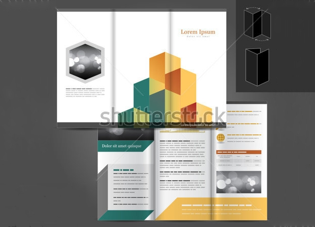 Vector Architectural Brochure Template