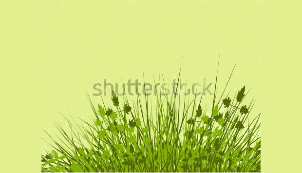 editable grass vector design