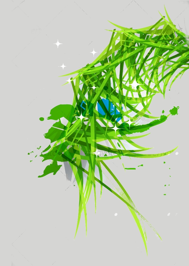 nature grass vector design1