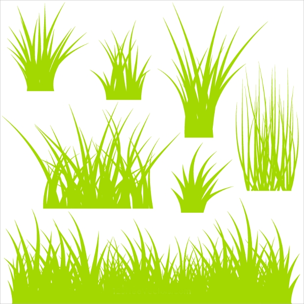 free green grass vector