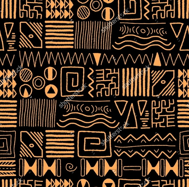 Tribal Ethnic Pattern Design
