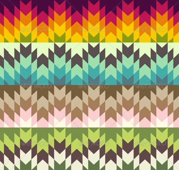 Abstract Ethnic Pattern Designs