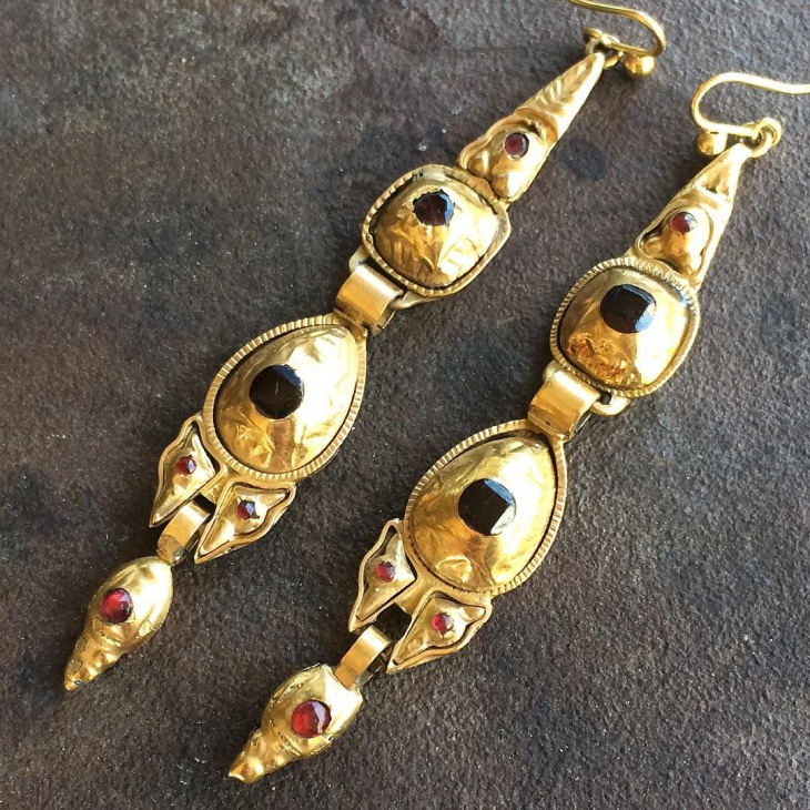 Unique Antique Earrings Set
