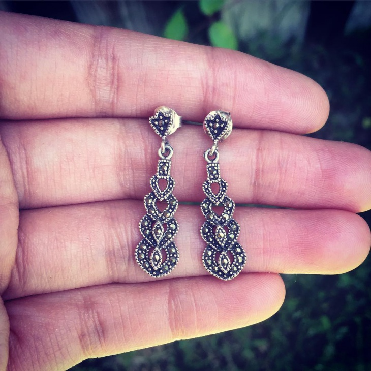 Sterling Silver Earrings Idea