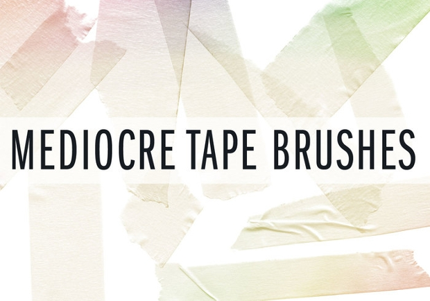 mediocre tape brushes