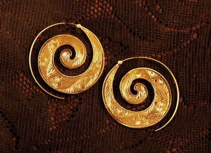 Mens Hoop Earrings Design