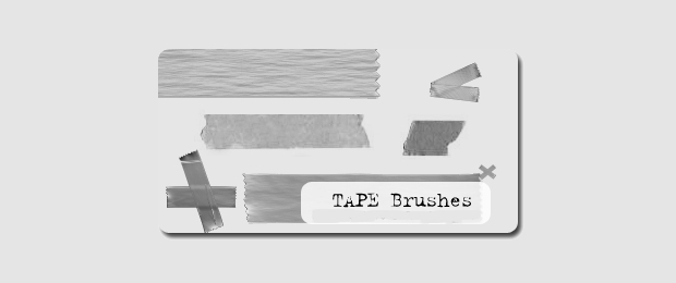 Elegant Tape Brushes Set