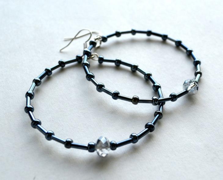21+ Diy Hoop Earrings Jewelry Designs, Ideas | Design Trends ...