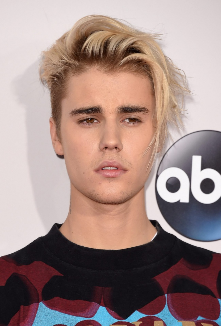 Justin Bieber Angular Fringe Disconnected Hair