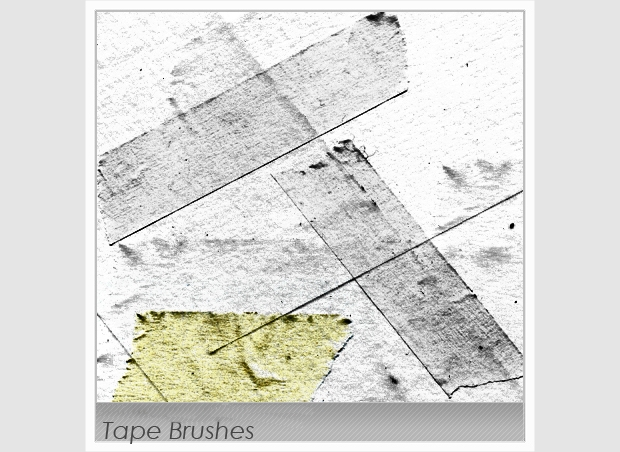 tape brushes