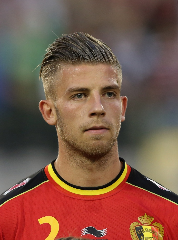 Toby Alderweireld Slicked Back Undercut