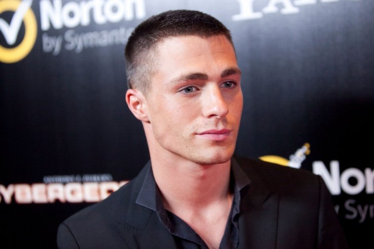 Colton Haynes Disconnected Buzz Cut Idea