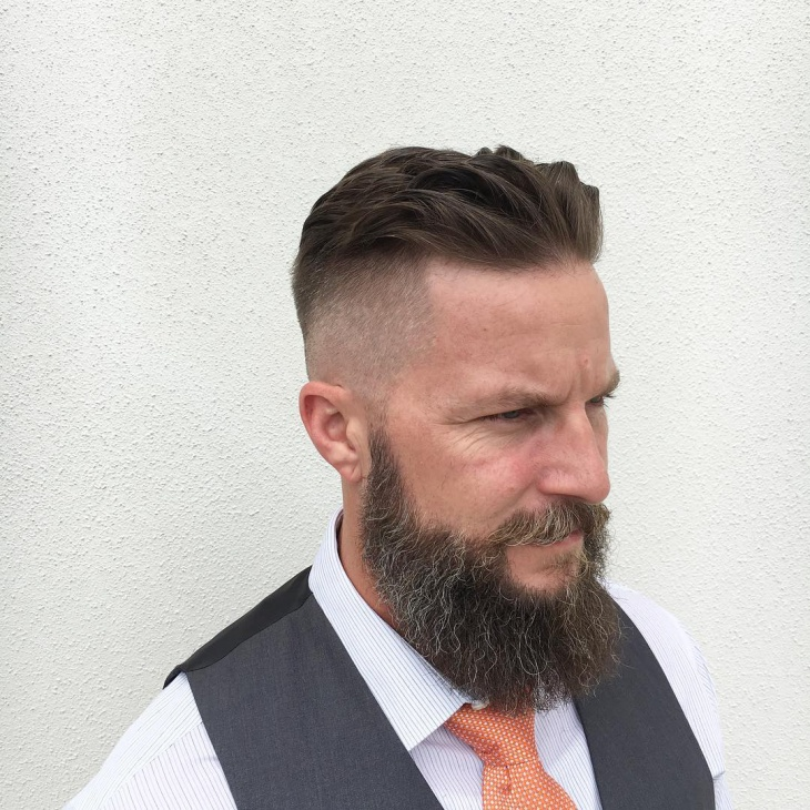 Simple Skin Fade Haircut