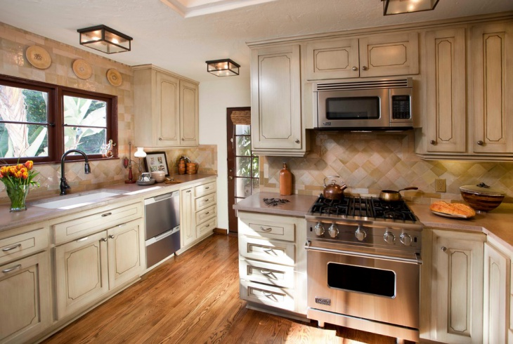 Vintage Style Kitchen Design