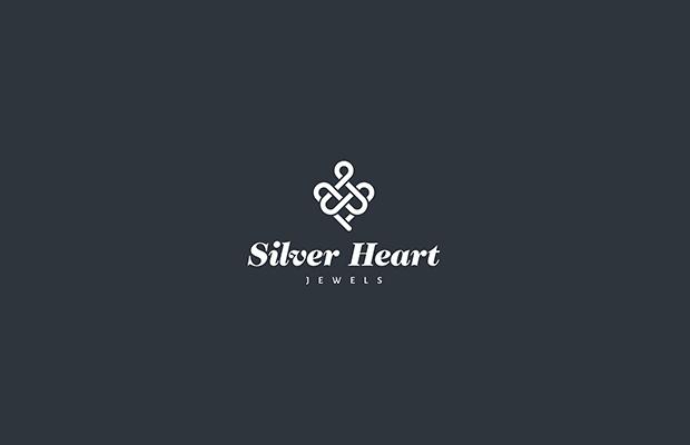 Silver Heart Logo