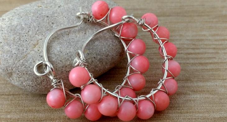 21 Diy Hoop Earrings Jewelry Designs Ideas Design Trends