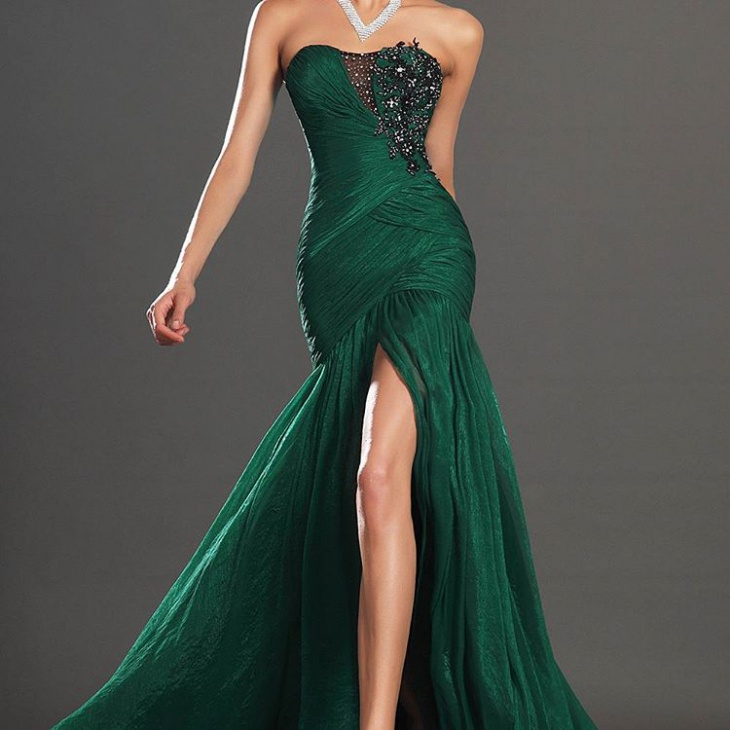 formal mermaid gown dress