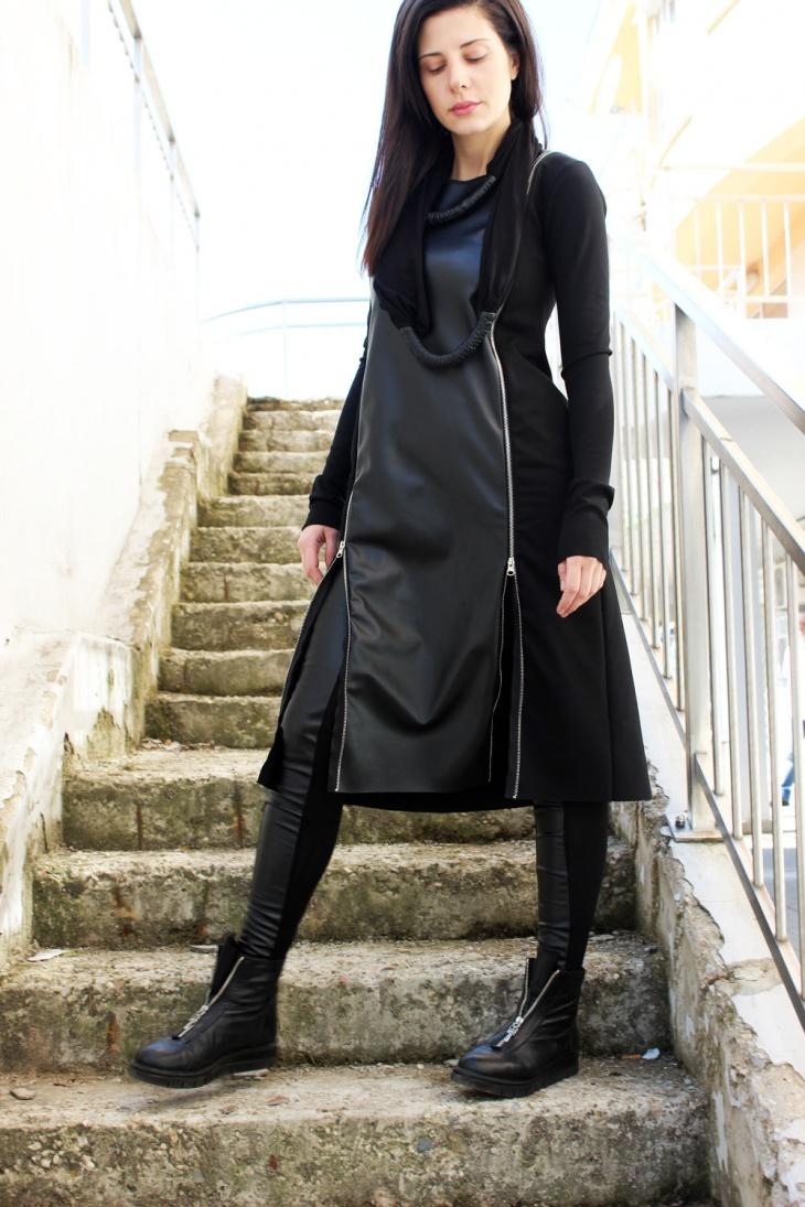 cocktail zipper dress
