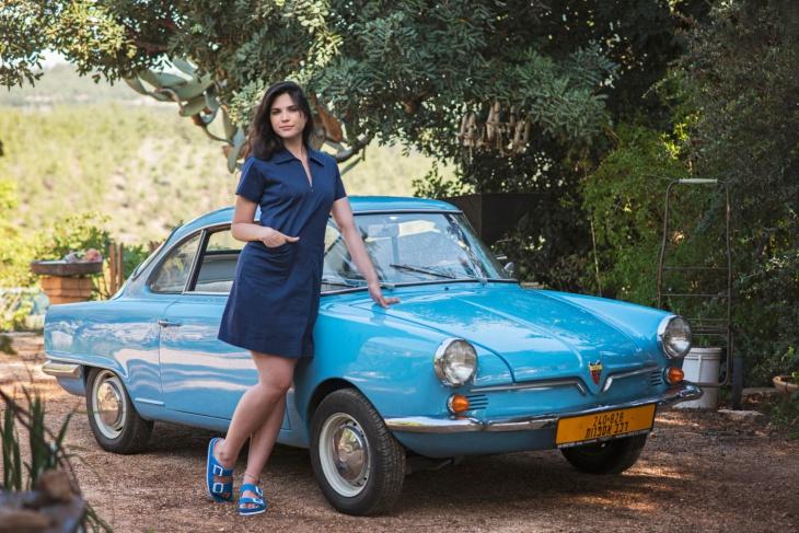Denim Blue Mini Zipper Dress