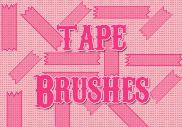 Elegant Tape Brushes