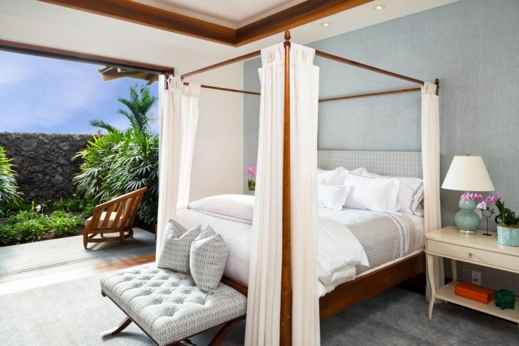 Garden Canopy Bed Idea