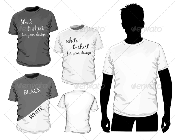 Customizable Vector T-shirt Design