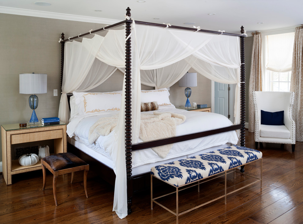 18 canopy bed designs ideas design trends premium for Four bedroom design
