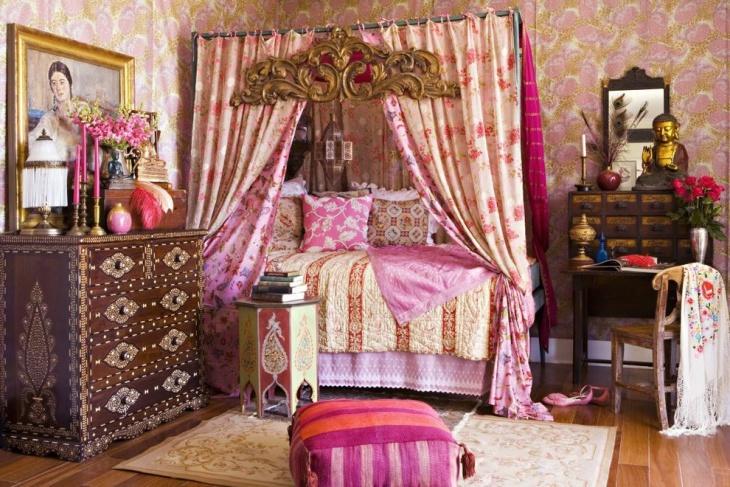 Romantic Canopy Bedroom Idea