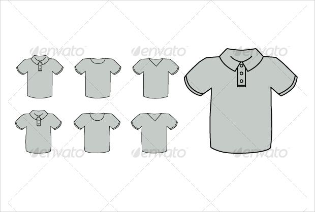 blank t shirt vector
