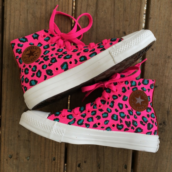 womens animal print sneakers