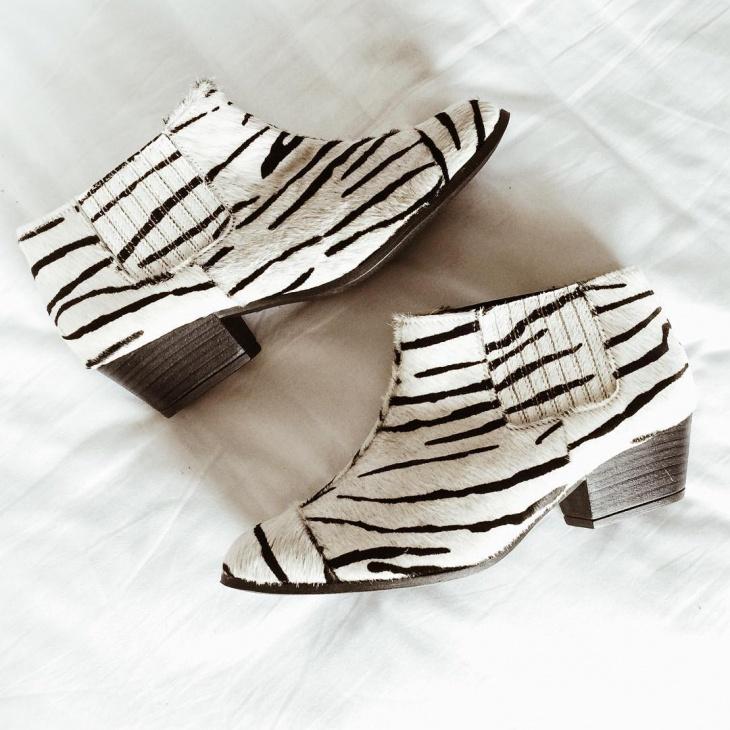 Animal Print Sneaker Wedge