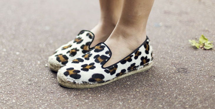 Fashionable Cheetah Print Shoes