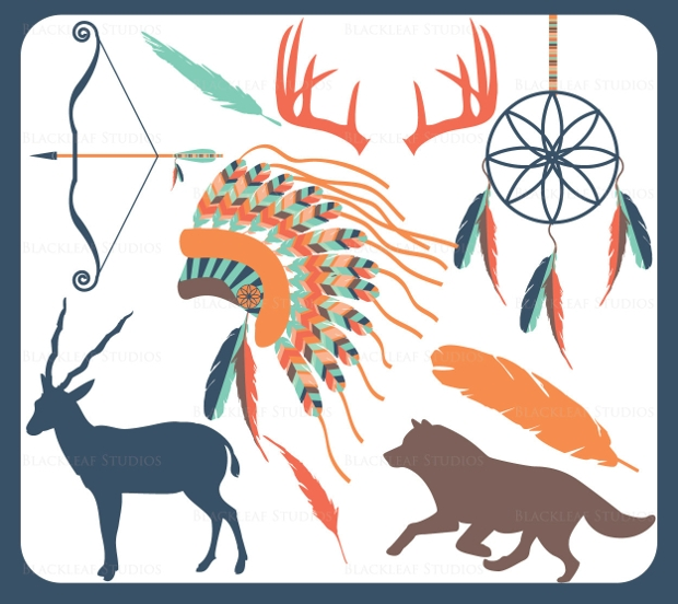 Classic Tribal Animal Vectors