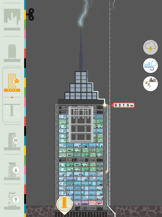 Delightful App Shows Kids How Skyscrapers Really Work
