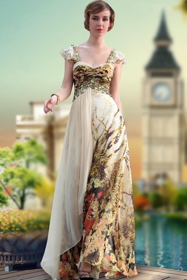 gorgeous long frock dress