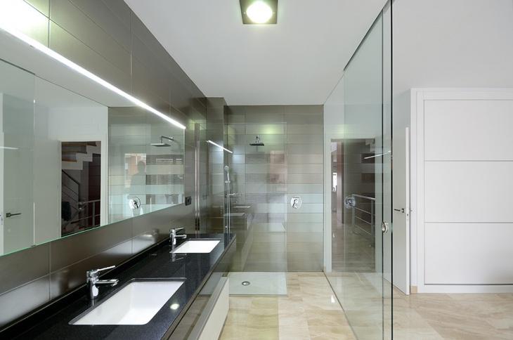 Modern Classic Cabinet Travertine Design