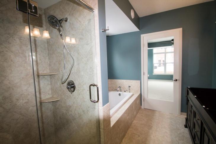 Elegant Look Of Modern Bathroom