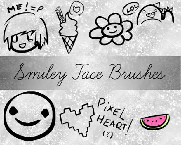 Smile Face Brushes