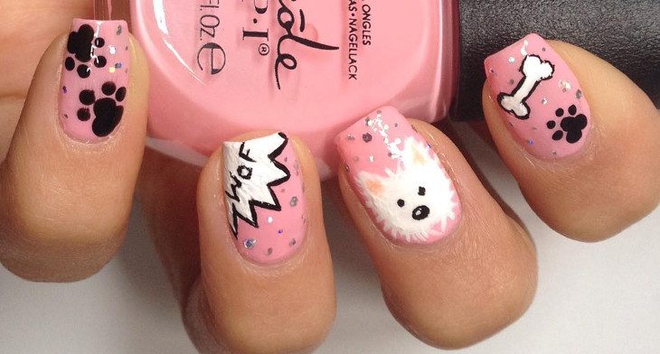 img. Dog nail art ... - 21+ Dog Nail Art Designs, Ideas Design Trends - Premium PSD