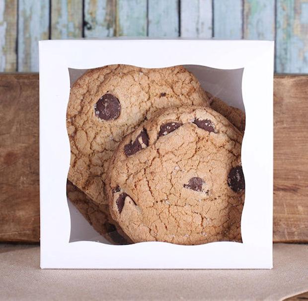 Cookies Box Packaging Design