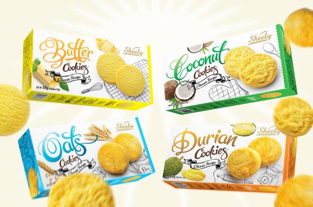 Sheely Cookies Packaging