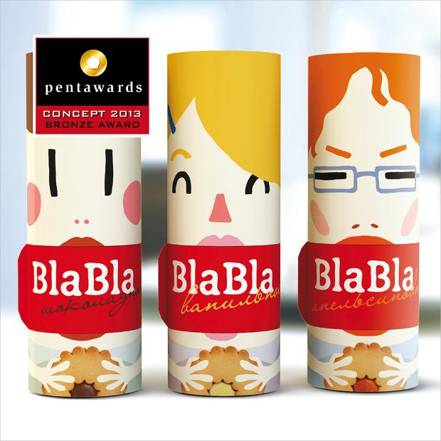 Bla-bla Cookies Packaging