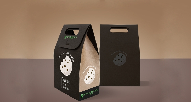 Design Trends Premium: 17+ Cookies Packaging PSD Templates